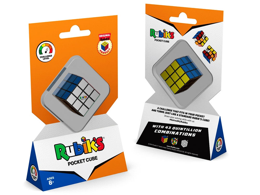 The Original Rubik's Pocket Cube | 3x3