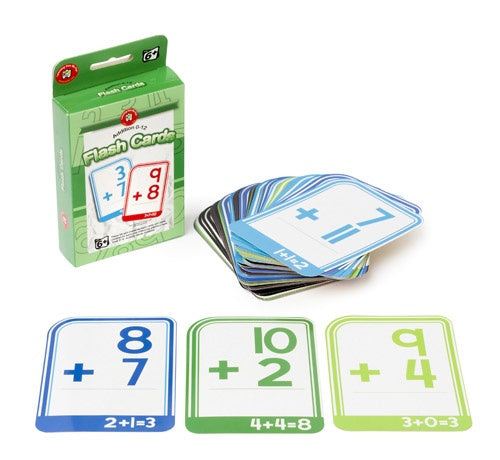 Learning can be fun | Addition 0-12 Flash Cards