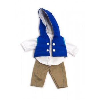 Miniland | 32cm | Navy Autumn outfit