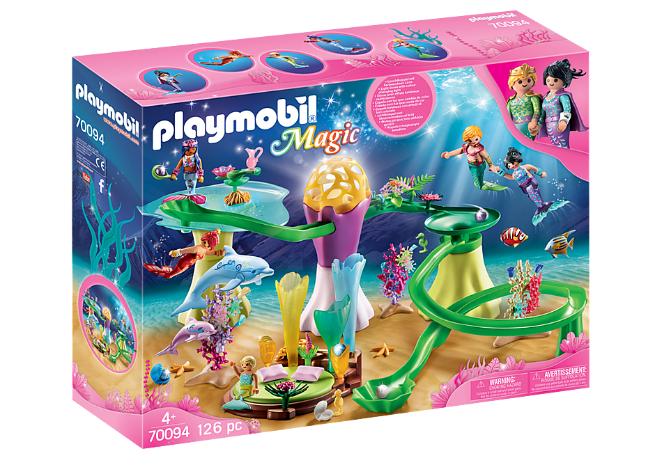 Playmobil | Magic | 70094 Mermaid Cove with illuminated dome