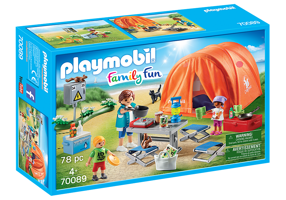 Playmobil | Family Fun | Family Camping Trip 70089