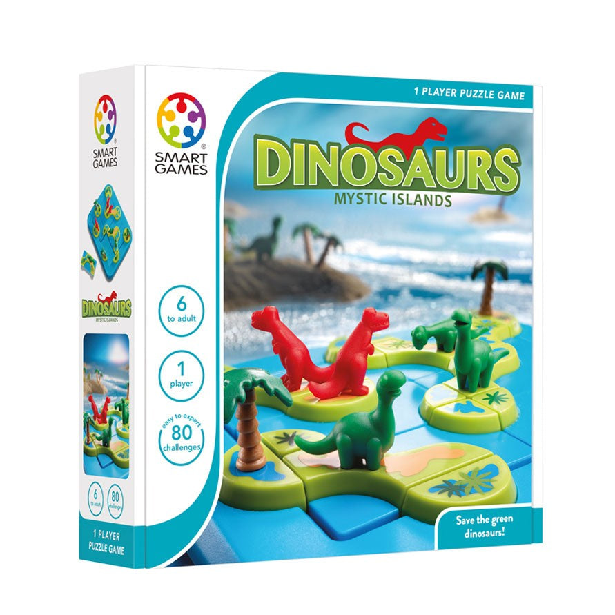 Smart Games | Dinosaurs Mystic Island | Single Player Game