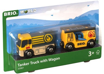Brio | Trains | Tanker Truck with Wagon