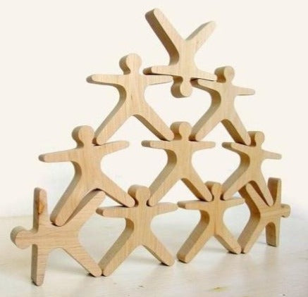 wooden stacking