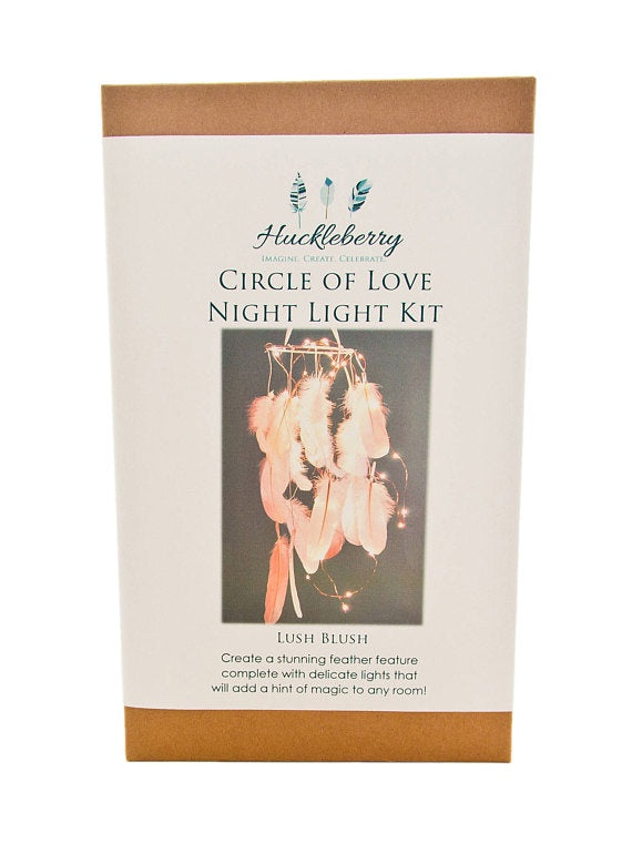 Huckleberry | Circle of Love Night Light Kit | Pretty In Pink
