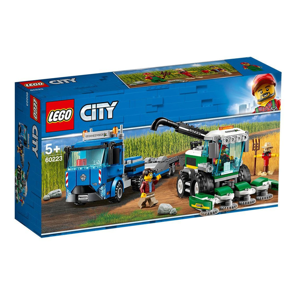 Lego | City | 60223 Harvester Transport