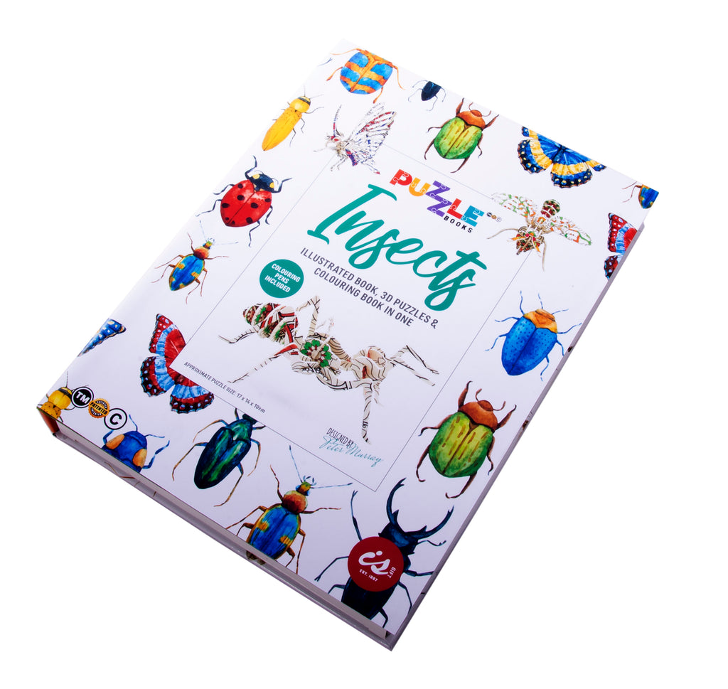 Puzzle Book | Insects