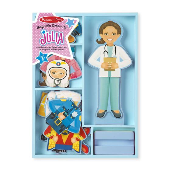 Melissa & Doug | Julia Magnetic Dress Up Set