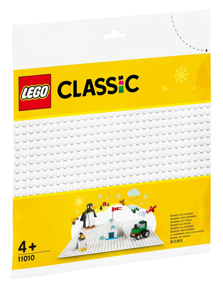 Lego | Classic | 11010 |  White Base Plate