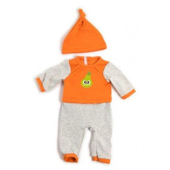 Miniland | 40cm | Winter Orange PJ's
