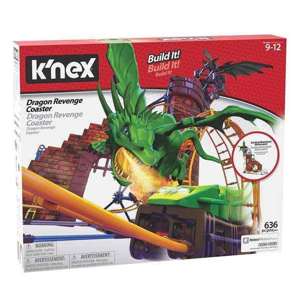 k'nex | Dragon's Revenge Thrill Coaster