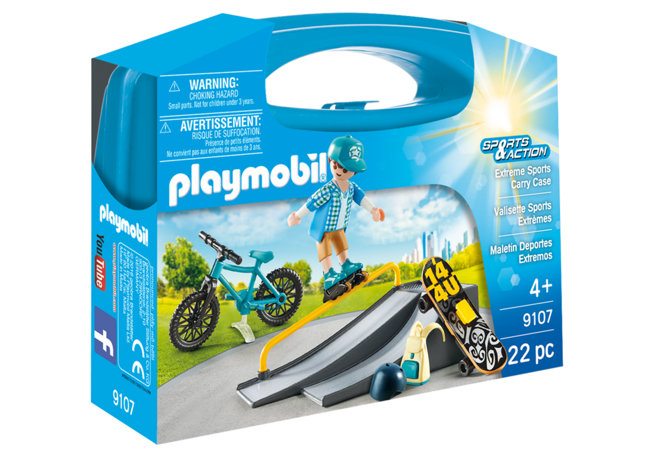Playmobil | Carry Case | Extreme Sports