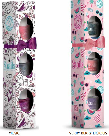 Snails Nail Polish |  Mini 3 pack