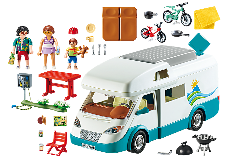 Playmobil | Family Fun | Family Camper 70088