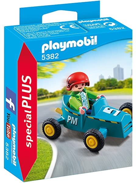 Playmobil | 5382 | Boy with Go-Kart