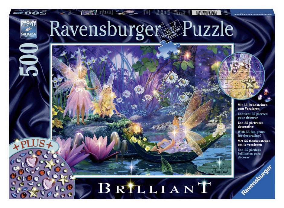 Ravensburger | 500pc | Brilliant Jewels | 148820 Fairy with Butterflies
