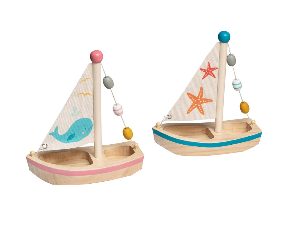 Kaper Kids | Calm & Breezy  Wooden Sail Boat