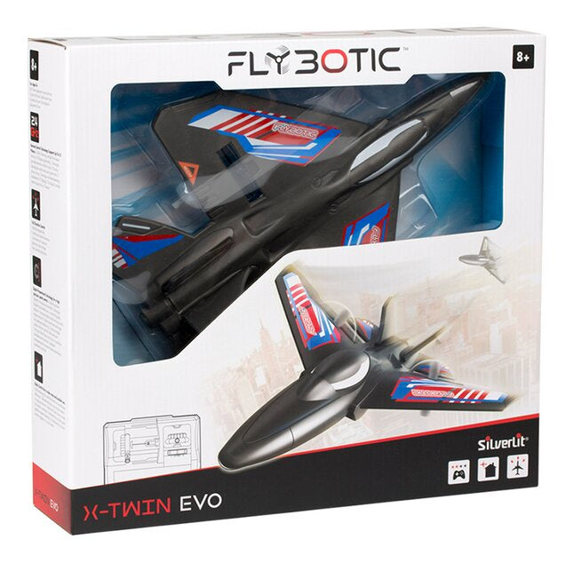Silverlit Flybotic | X Twin Evo Remote Control Plane