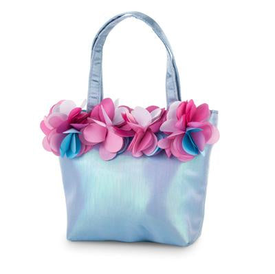Pink Poppy | Flower Fairy Hand Bag - blue | BAJ079B