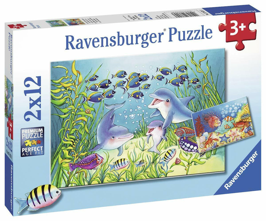Ravensburger | 2x12pc | 076253 On The Seabed