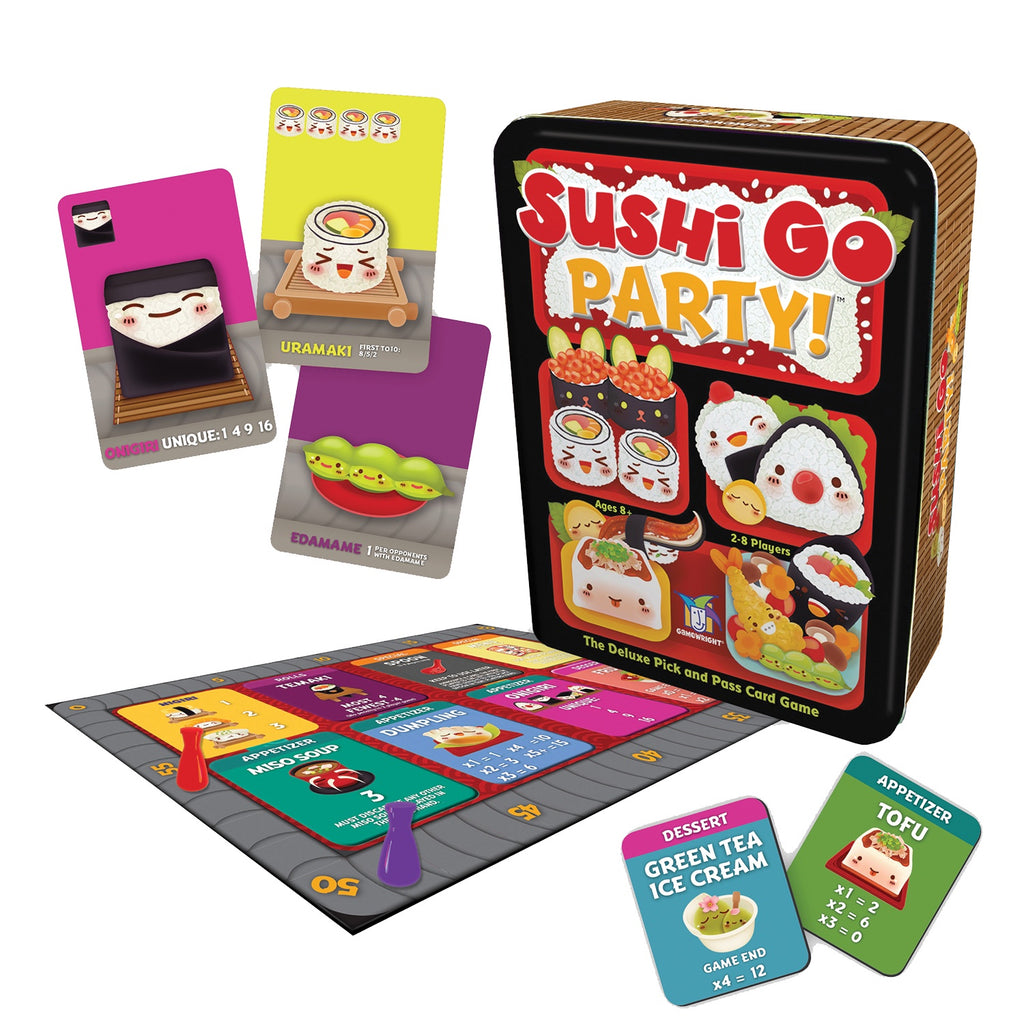 Gamewright | Sushi Go Party in a tin