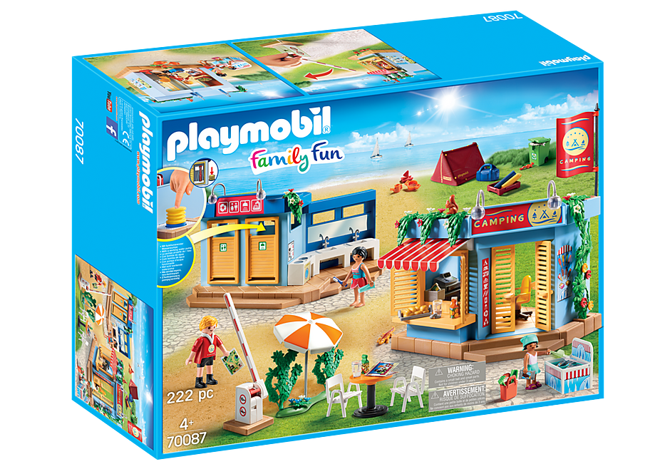 Playmobil | Family Fun | Large Campground 70087