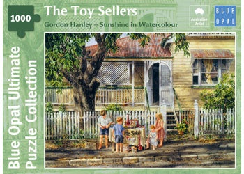 Blue Opal | 1000 pc | Gordon Hanley | Sunshine in Watercolour | The Toy Sellers