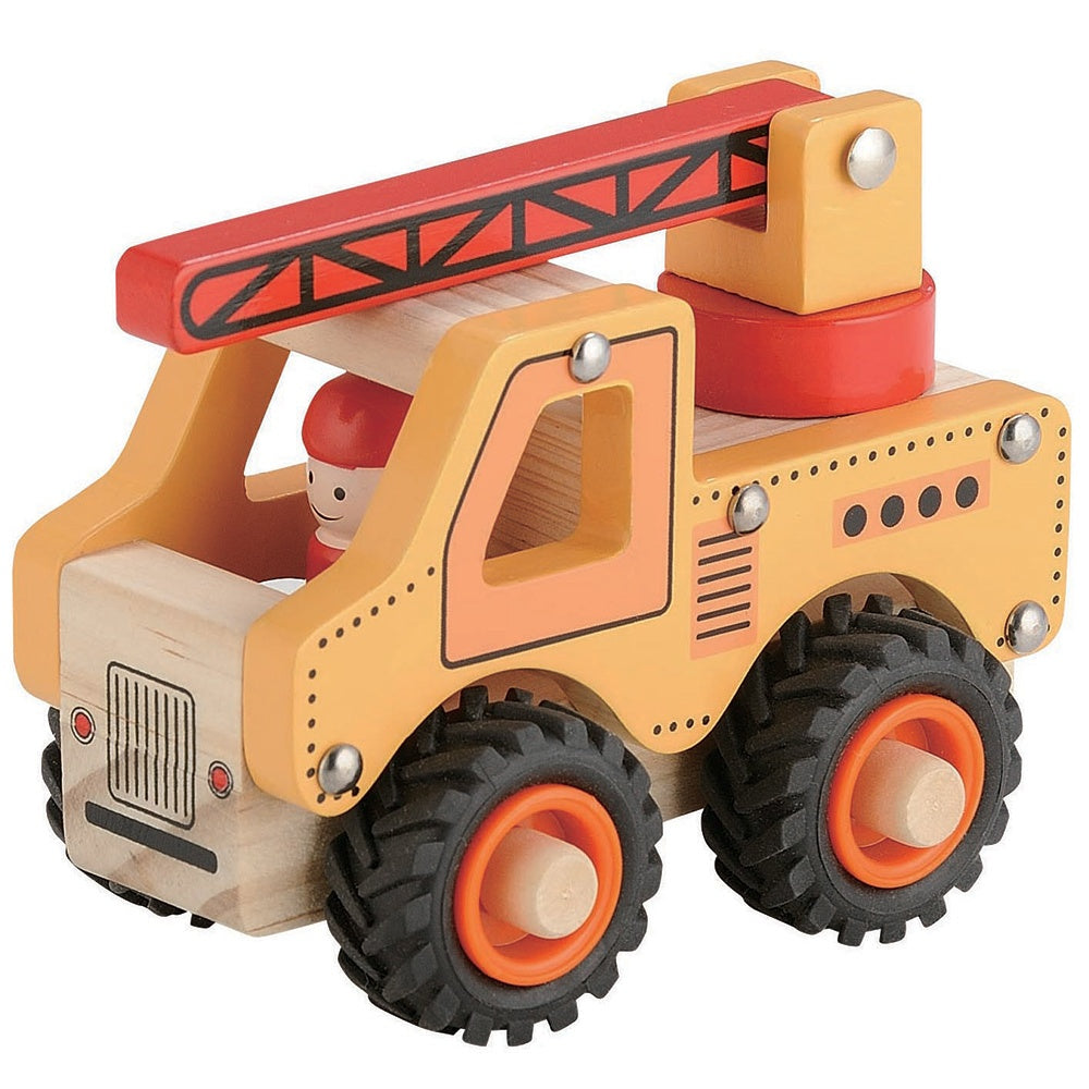 Boxed Vehicle | Wooden Crane