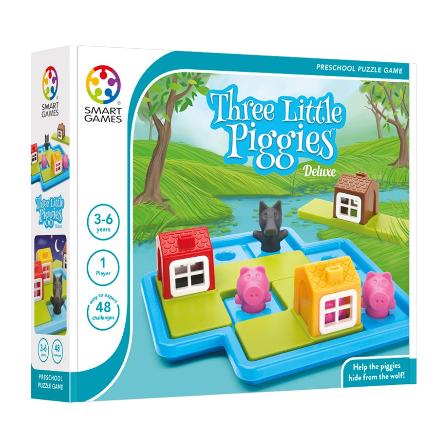 Smart Games | Three Little Piggies Deluxe | Single Player
