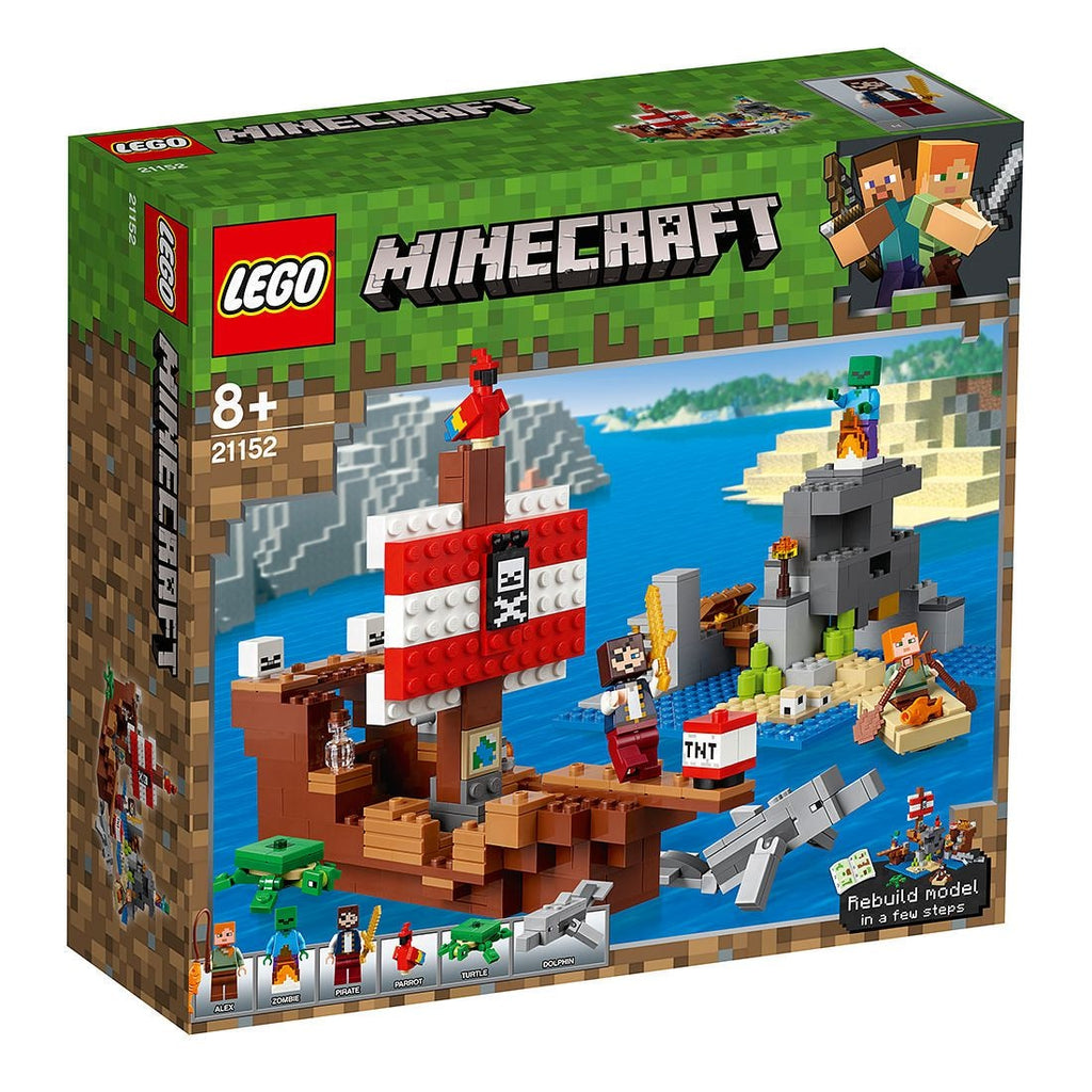 Lego | Minecraft | 21152 The Pirate Ship Adventure