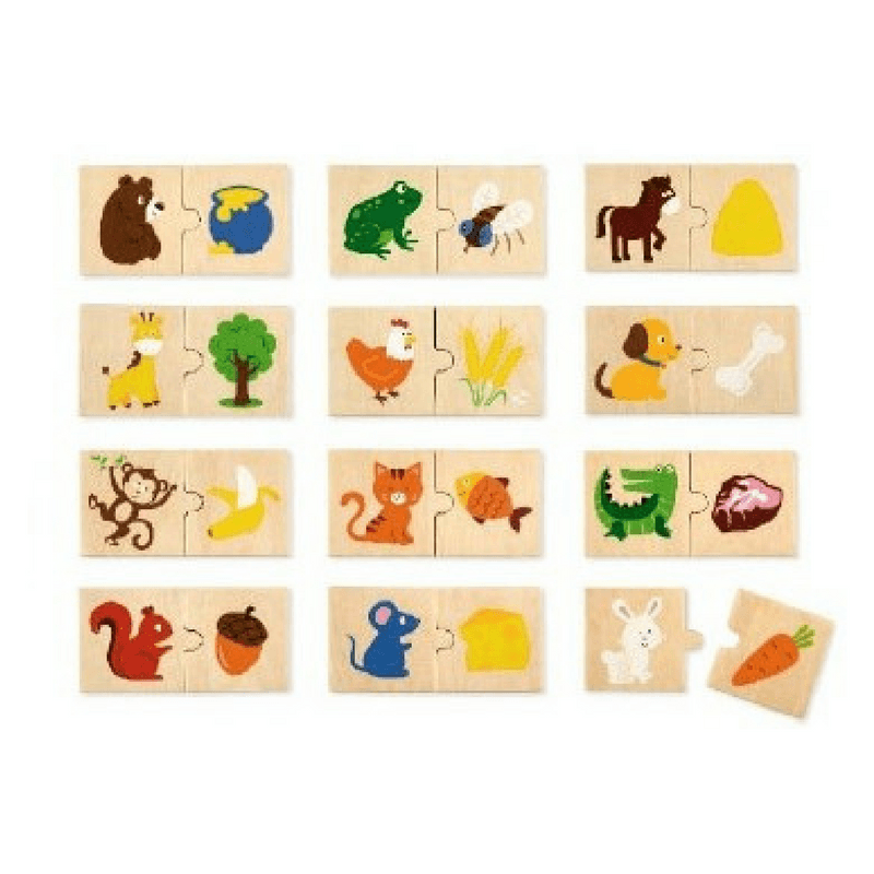 Viga | Animal Feeding Puzzle