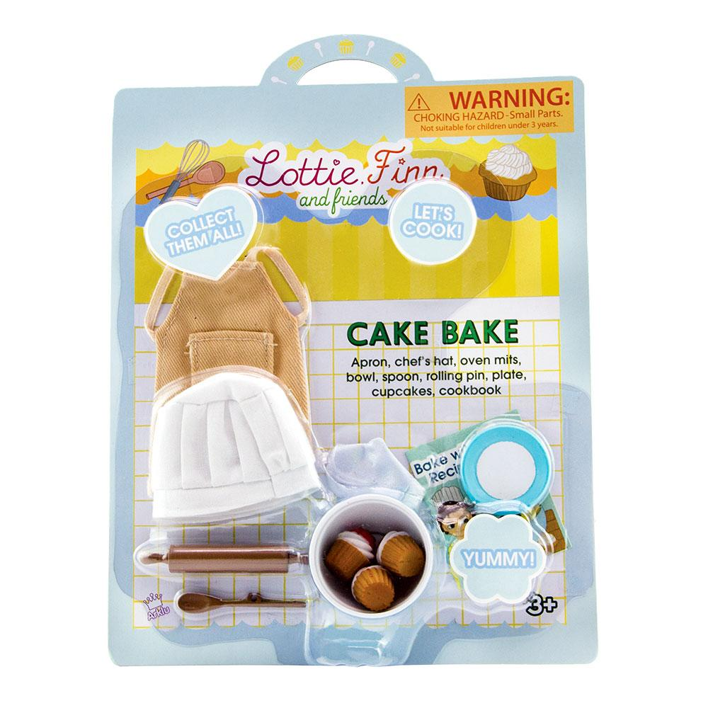 Lottie Dolls | Cake Bake |  Accessory Set