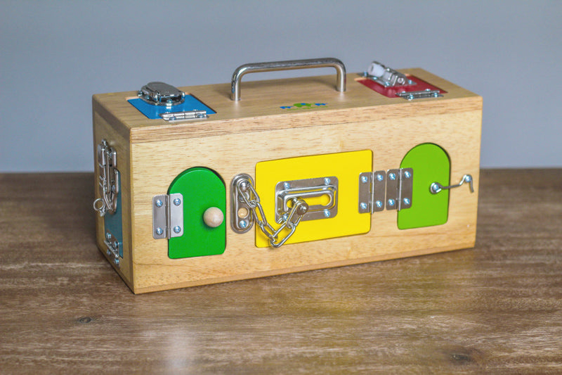 The Original Lock Activity Box | Mamagenius
