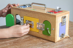 Lock Box Educational Toys