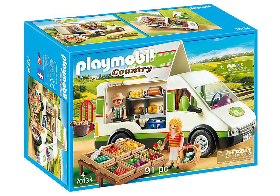 Playmobil | Country | Mobile Farm Market 70134