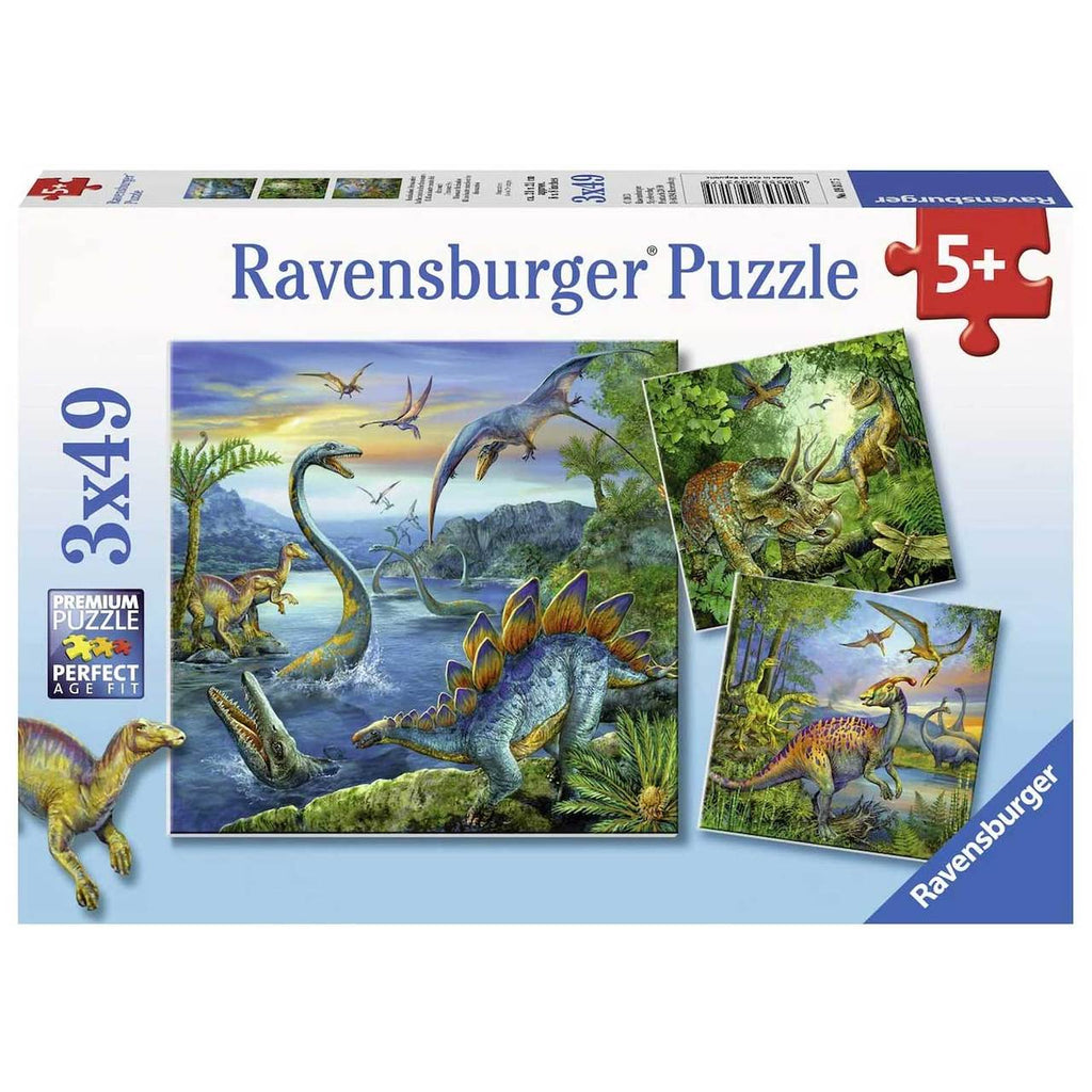 Ravensburger | 3x49pc | 093175 Dinosaur Fascination