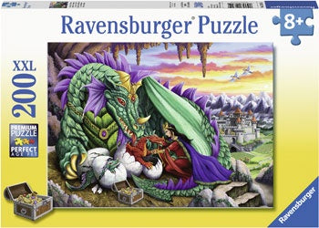 Ravensburger |126552 | 200pc | Queen of Dragons