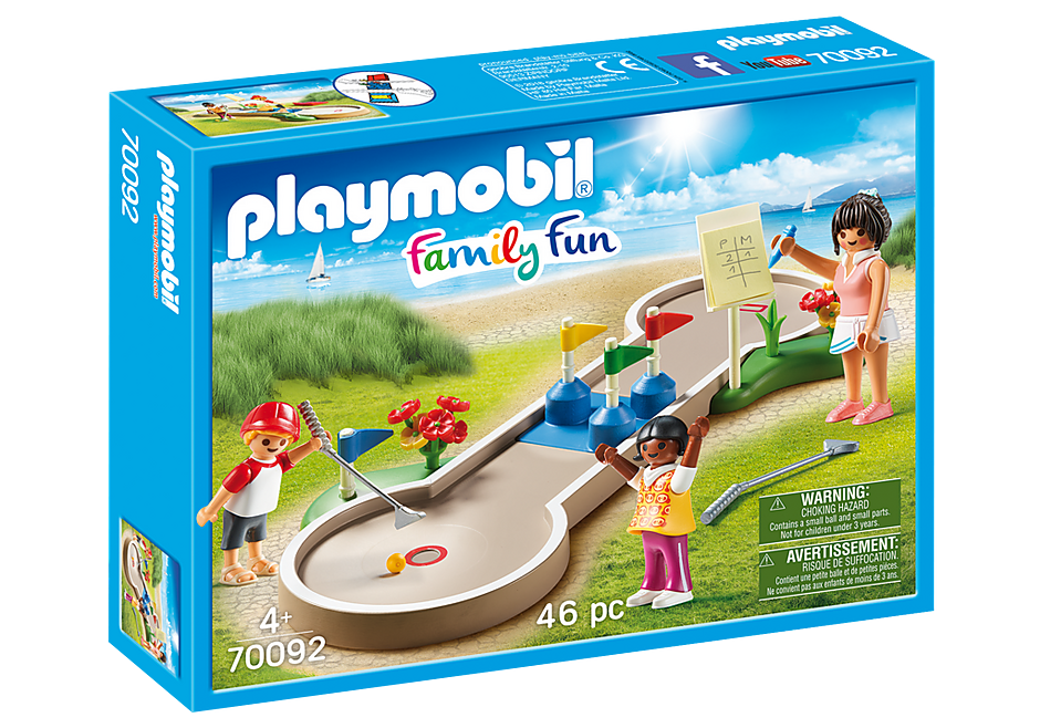 Playmobil | Family Fun | Mini Golf 70092