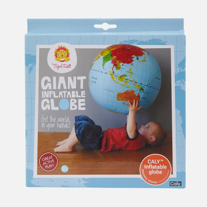 Tiger Tribe | Giant Inflatable Globe