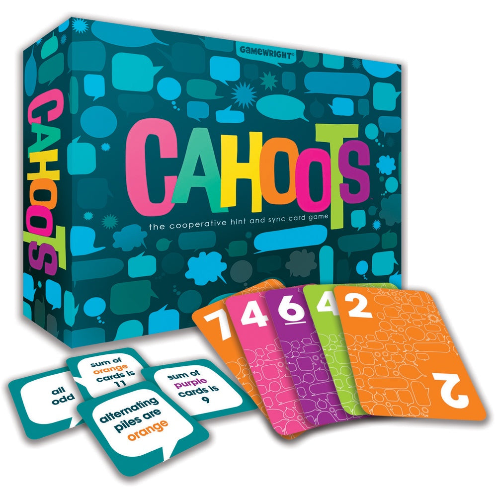 Cahoots | The Cooperative Hint Game