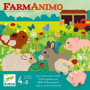 Djeco | Farm Animo Game