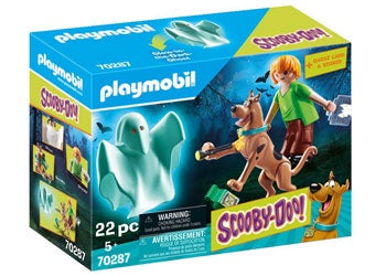 Playmobil | Scooby-Doo | 70287 Scooby, Shaggy & Ghost