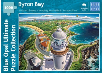 Blue Opal | 1000 pc | Stephen Evans | Byron Bay