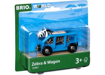 Brio | Trains | Zebra & Wagon