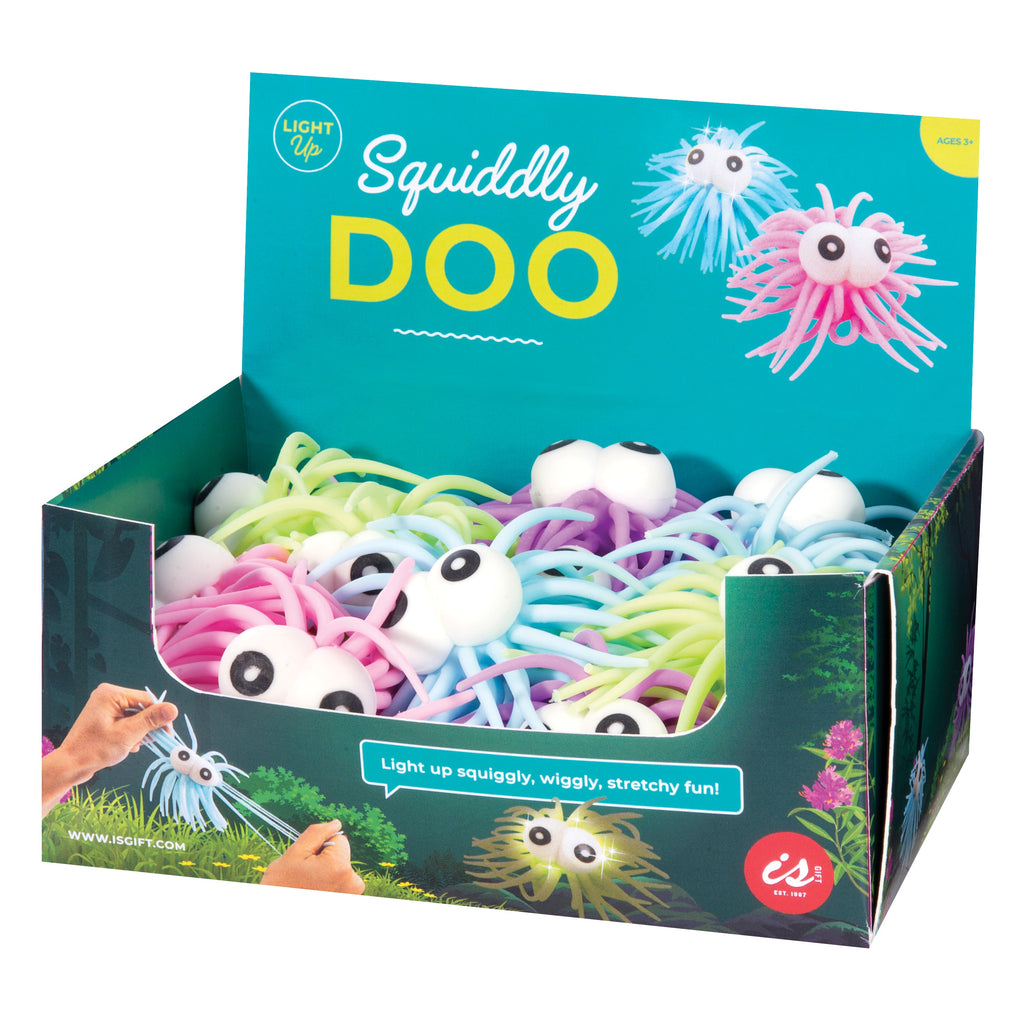 Squiddly Doo Stretchy Light Up Creatures