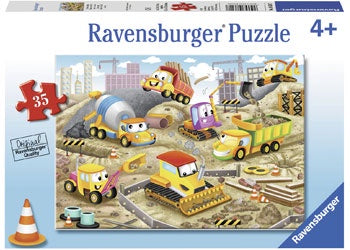 Ravensburger | 35pc | Raise the Roof 086207