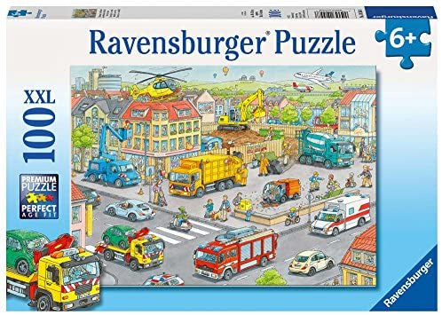 Ravensburger | 100pc | 105588  Vehicles in the city