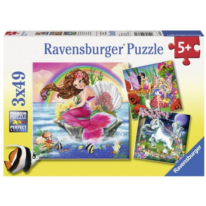 Ravensburger | 3x49pc | 093670 Mythical Creatures