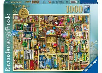 Ravensburger | 1000pc | 193141 Bizarre Bookshop 2