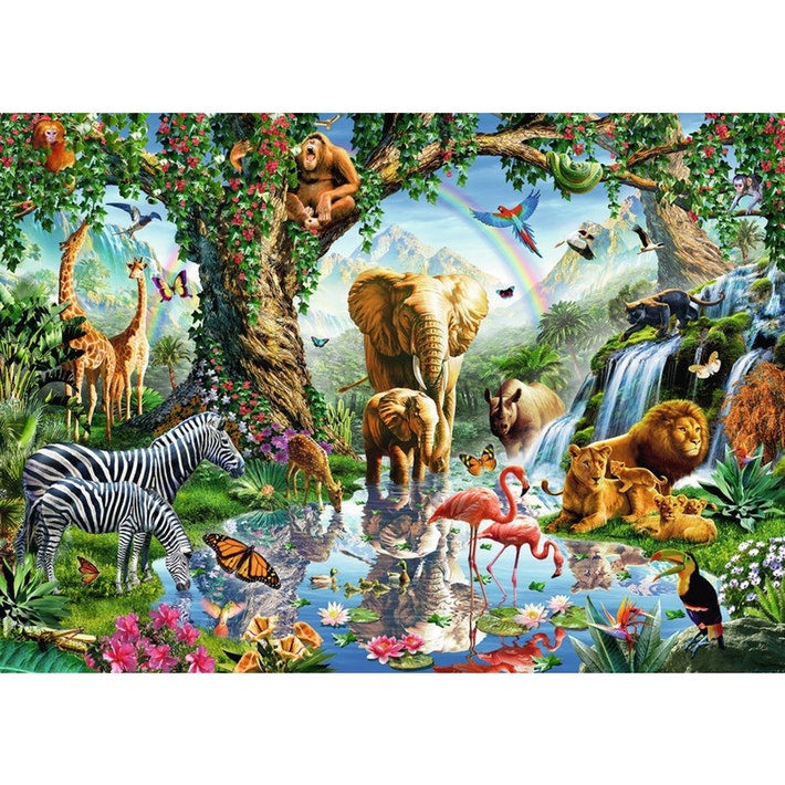 Ravensburger | 1000pc | 198375 Adventures in the jungle
